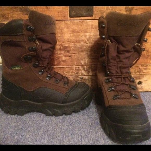 f0dcc487f36 Cabela's Dry-Plus Boots Size 8D